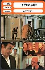 FICHE CINEMA : LA BONNE ANNEE - Ventura,Fabian,Lelouch 1973 - Happy New Year