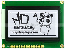 128x64 Graphic LCD Module Display LCM w/KS0107+KS0108 Controller,Black on White