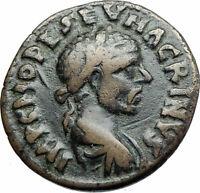 MACRINUS 217AD Parium Parion MYSIA Authentic Ancient Roman Coin GENIUS i79982