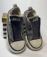Unisex Infant Converse All Star Low Top Canvas No Lace Sneaker - Sz 9