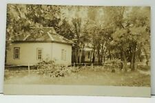 RPPC Scene in Ruskin Park South Dakota 1908 Woonsocket to Dubuque Ia Postcard J7