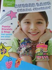RUBBER BAND CHARM JEWELRY ANKLE BRACELETS RINGS PROJECTS INSTRUCTION BOOKLET