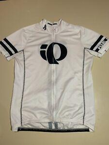 Pearl Izumi ELITE Series Men's FULL Zip  Cycling Jersey - XL White / Black