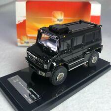 1/64 GLM Mercedes Benz Unimog U5000 SUV Black 2012 Diecast GLM640001