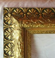 "BIG FITS 16"" X 20""  GOLD GILT ORNATE WOOD PICTURE FRAME FINE ART VICTORIAN"