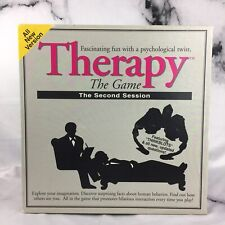 Therapy The Game The Second Session Board Game - Pressman 1996 Complete VTG
