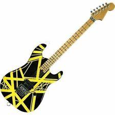 EVH Minature Guitars Evh002 Mini Replica Guitar Van Halen Black & Yellow