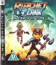 Ratchet & Clank: A Crack In Time Sony Playstation 3 PS3 3+ Action Adventure Game