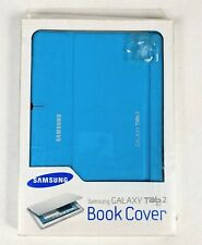 Original Samsung Book Cover Case Galaxy Tab 2, 10.1 in Blue