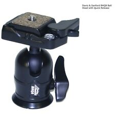 Davis & Sanford BHQ8 Ball Head with Quick Release Plate & Bubble Level - New