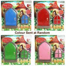 Enchanted Fairy Door & Window Set - Colour Sent at Random