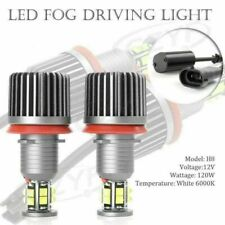 H8 CREE LED Daytime Running Light Bulbs DRL Driving Work Lamps 240W New Car ha