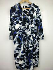 Viscose Empire Waist Geometric Dresses for Women