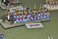 25mm ACW / mexican - regiment 21 figures - inf (39244)