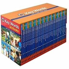 Ladybird Key Words with Peter and Jane 36 Books Box Set Hardcover Children Books