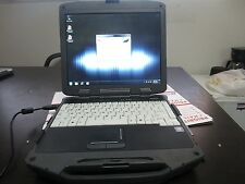 Toughbook i7 2.2GHz General Dynamics GD8200 4GB DDR3 120GB SSD BATTERY MISSING