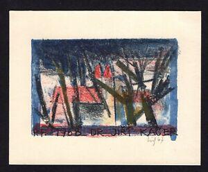 31)Nr.021- EXLIBRIS- Jaroslav Uiberlay