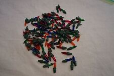 100 Multi Colored Mini Christmas Light Replacements 2.5 Volt