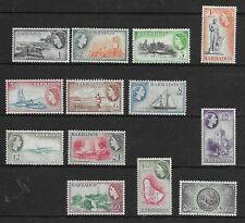 Barbados 1953 Defins. 1c - $2.40 comp. MINT NH
