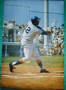 1969 Seattle Pilots Sports Illustrated Poster Tommy Davis - Vintage Clean -Plus+