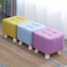 Wooden Creative Kids Bench Small Foot Stools Saddle Fashion Sofa Living Room