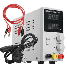 30V 10A Adjustable Switching Regulated DC Power Supply LCD Digital Display