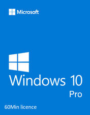 MS Windows 10 PRO / Vollversion / Lizenz / 32/64 Bit  / Dauerhaft
