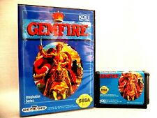 GEMFIRE Sega Genesis Mega Drive.