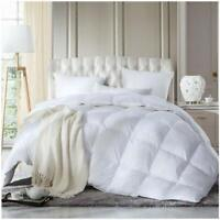 LUXURY HOTEL QUALITY GOOSE / DUCK FEATHER & DOWN DUVET QUILTS ALL SIZES 10.5 TOG