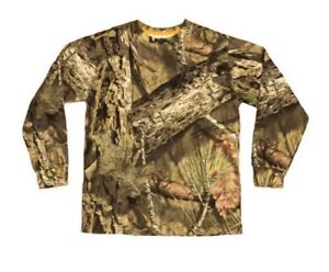 Mossy Oak Brush Long Sleeve Camo Shirt Size Boys XL 14-16 MO COUNTRY Camouflage