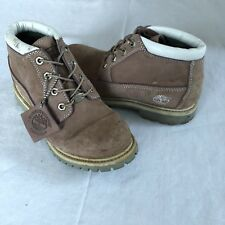 Timberland Nellie Chukka Suede Waterproof Boots Women's sz 6.5 M