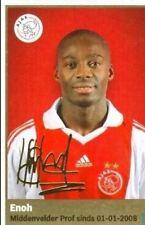 AH 2009/2010 Panini Like sticker #25 Enoh Ajax Amsterdam