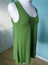 Join Clothes green vest loose top size M 10 12 14