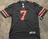 Colin Kaepernick San Francisco 49ers Black Jersey NEW 2XL