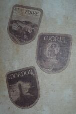 Lord of the Rings Patch Set - The Shire, Moria, and Mordor (LootCrate)