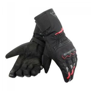 Dainese Tempest Short Unisex Waterproof Gloves Black/Red
