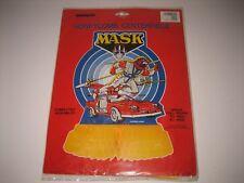 Vintage UNIQUE NEW 1986 M.A.S.K. PARTY TABLE HONEYCOMB Centerpiece THUNDER HAWK