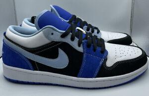 Nike Air Jordan 1 Low SE Racer Blue White DH0206-400 Men Size 12