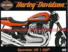HARLEY DAVIDSON XR 1200 Sportster ( XR 75 ) Tatouages Le Service School MOTO HD