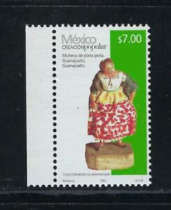 MEX 2008 FOLK ART $7.00 MUñECA DE PLATA SC#2499c (CP14-3)