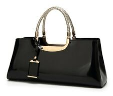High Quality European style Women Bag Black Travel Shoulder Tote free shipping
