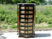 BOULLE FRANCE BOULLE STYLE CHEST OF DRAWERS #LU38