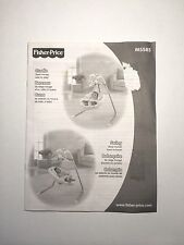 Fisher Price My Little Lamb Cradle Papasan Swing Repl Instruction Booklet Manual