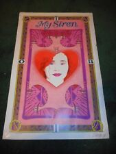 Tori Amos - Original Ss Rolled Bob Masse Poster - Autographed