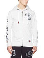 Superdry Trackster54g Sweat-shirt en Gaze Hommes couleur Glacé À capuche L sans Applicable
