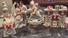 Lenox Ornament Variety Set of 4 (Wedding, Baby, and Christmas)