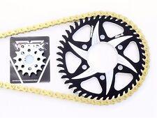 Vortex Sprockets 15/45 520 Kit RK Max-O Chain 07 08 09 2010 2011 2012 Ninja ZX6R