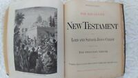 Very Rare 1891 King James Version Family 'SHE' Bible Error in Book of Ruth