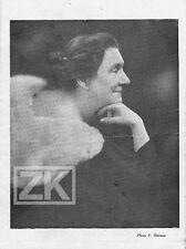 YVETTE GUILBERT Chanson Voix de son Maitre Irène AITOFF Piano Pleyel Prog 1932