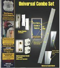 """ARMOR Door Security Jamb Repair Kit Prevent Break-ins Hinge Door Shields 2-3/8"""""""